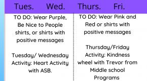 info flyer for kindness week