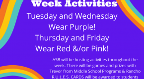 info flyer for kindness week