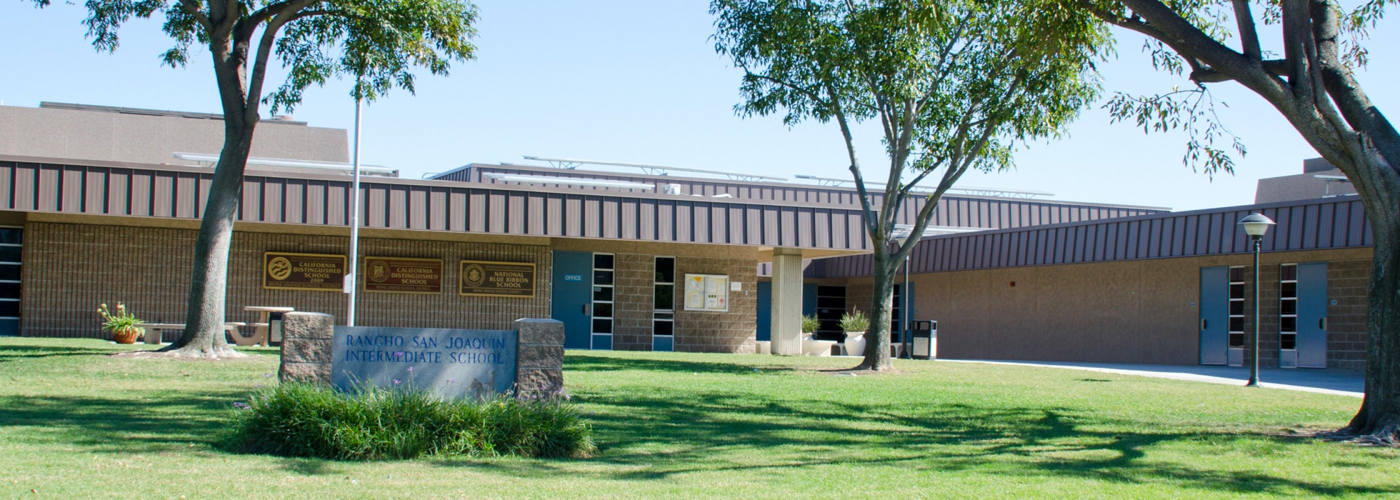 front of Ranch middle school